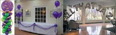 helium balloons are a great party decoration for any event