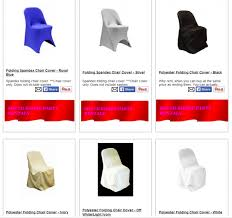 chair cover rental south shore party rentals folding chair covers rentals 774 776