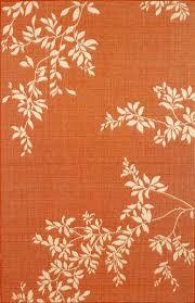 Modern Orange Rugs by Rug Orange Area Rug 8 10 Wuqiang Co