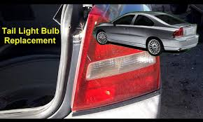 volvo s60 tail light assembly tail light bulb replacement volvo s80 auto repair series youtube