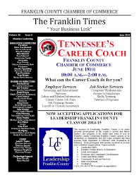 franklin times newsletter june 2014 by franklin county chamber issuu