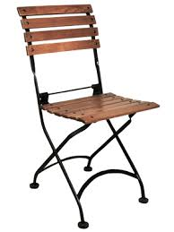 reproduction french bistro cafe folding side chairs walnut stained