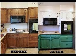 Refacing Kitchen Cabinets Diy Kitchen Cabinets Diy Painting Youtube Refinish Refinishing 7112
