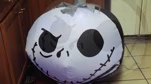 nightmare before christmas jack skellington halloween airblown