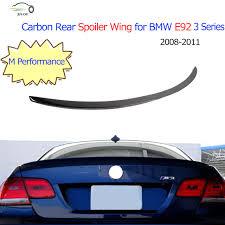 bmw 335i car cover aliexpress com buy carbon fiber trunk boot lip rear spoiler