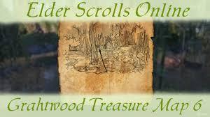 Khenarthi S Roost Treasure Map 1 Grahtwood Treasure Map 6 Vi Elder Scrolls Online Eso Youtube