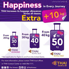 united airlines luggage policy news details news u0026 annoucement thai airways