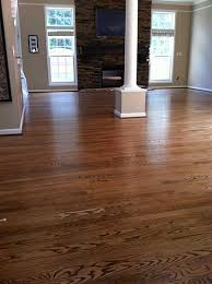 oak with duraseal special walnut stain bona traffic satin