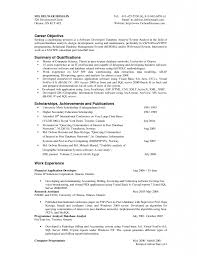First Resume Objective Download It Resume Objective Haadyaooverbayresort Com Sample For