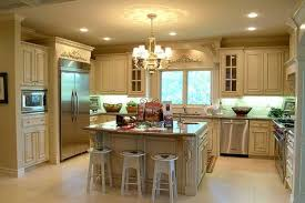kitchens with islands ideas classic white wooden galley kitchen with square kitchen island