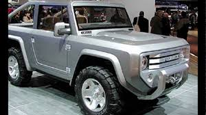 future ford bronco 2018 ford bronco luxury redesign changes concept youtube