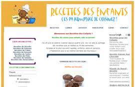 recettes cuisine enfants des recettes de cuisine pour les enfants en images pour la