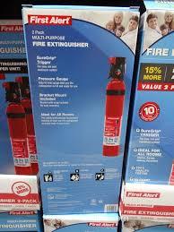 First Alert Kitchen Fire Extinguisher by First Alert Fire Extinguisher 2 Pack