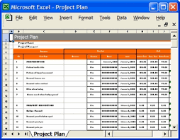 Project Templates In Excel It Project Plan Template Oracle Implementation Project Template