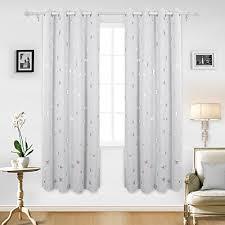Grey White Curtains Grey White Curtains Amazon Co Uk
