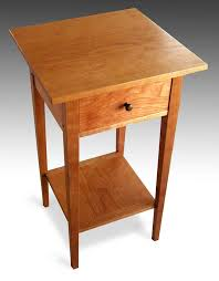 shaker style side table shaker furniture to fit cherry end table shaker furniture