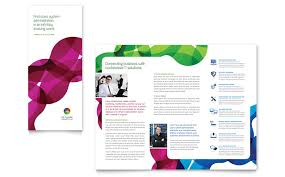 free three fold brochure template three fold flyer templates free bahia design