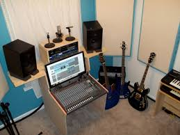 recording studio workstation desk my little corner of the world and a lesson in the ergonomics of