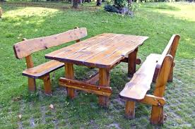 picnic table plans detached benches outdoor wood picnic table good wood picnic table round wood outdoor