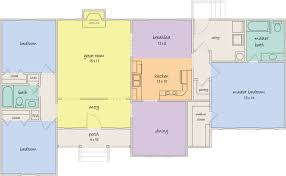 Floor Plan Meaning Find Room For Everything In A New Georgetown Home By United Built