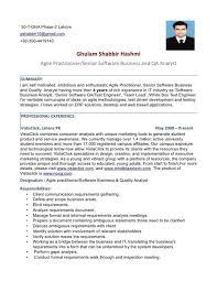 Manual Testing 2 Years Experience Resume Sample Testing Resumes Sample Resume For Experienced Software Air