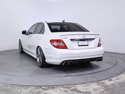 used 2009 mercedes benz c class c63 amg sedan for sale in miami