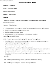 Football Coach Resume Example by Coaching Resume Templates Virtren Com