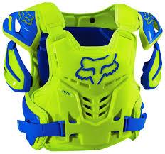 fox motocross chest protector fox racing raptor vest ce revzilla