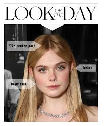 when a guys tuck hair ears means elle fanning showed us the right way to tuck hair behind your ears