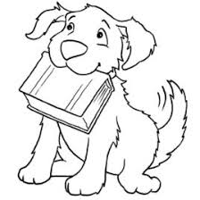 coloring book dog kids drawing coloring pages marisa