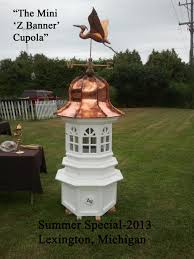 Weathervanes For Cupolas Cupolas Cupola Barharbor Cupola St Clair Shores Michigan Shed