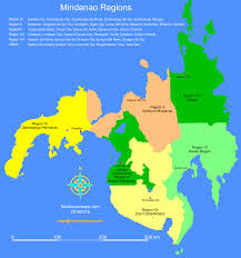Regions World Map by Mindanao Regions Mindanao Maps