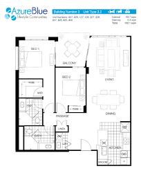 The Azure Floor Plan by Azure Blue Redcliffe Azure Blue Lifestyle Communities