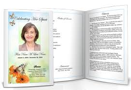 funeral booklet funeral booklet templates