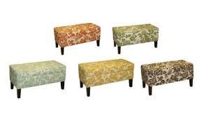 Storage Bench Fabric Aviary Fabric By Thomas Paul