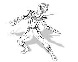 power rangers wild force coloring pages coloring page site