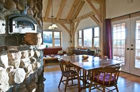 timber frame home interiors finished timber frames gallery new heritage woodworking