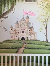 castle mural for little princess this is a close up of full wall castle mural for little princess this is a close up of full wall mural