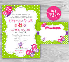 baby shower butterfly invitation baby shower printable