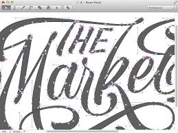 vector typography tutorial the market list typography fonts and graphic design tutorials