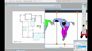 draw fast floor plans with photoshop youtube
