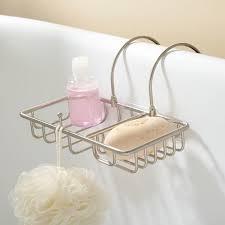 soap basket with sponge holder bathroom