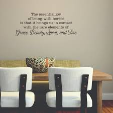 Wall Quotes For Living Room by Grace Beauty Spirit And Fire Wall Quotes Decal Wallquotes Com