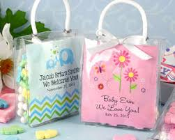 baby shower favor bags personalized hershey s kisses mini tote baby shower favors my