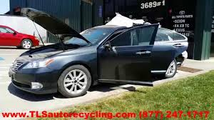 parting out 2010 lexus es 350 stock 4056bk tls auto recycling