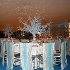 branches for centerpieces bill tansey used blue flocked branches as centerpieces covered