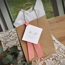 wedding guest bags wedding guest gift bag for hotel guest favor bags brown paper