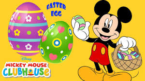 Mickey Mouse Easter Eggs Mickey Mouse Clubhouse Disney Easter Egg Hunt Finger Family Song