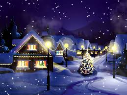 christmas animated wallpaper christmas snowfall animated