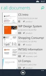 Best App To Store Business Cards Get Camscanner Microsoft Store